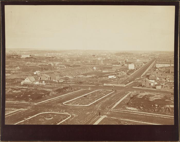 "©Peter Baab ca. 1882.  ""View from roof of George Ehret's home on PA and 94th Street"" Courtesy Museum of the City of New York MNY54768"